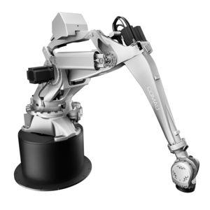 articulated robot / 5-axis / handling / palletizing