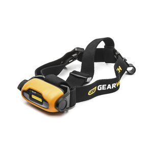 LED head lamp / work / rechargeable / IP54