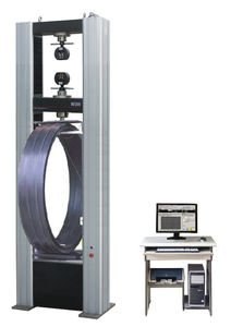 stiffness testing device / for plastic pipes / PC-controllable