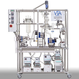 industrial effluent distillation unit / laboratory / automatic