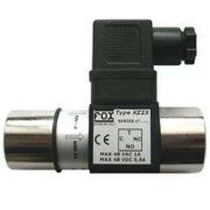 differential pressure switch / piston / for hydraulic applications / low-pressure