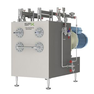 scraped surface heat exchanger / gas/gas / stainless steel / plastic