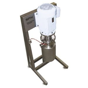 emulsifier for the food industry / vertical / continuous