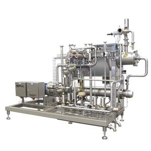 emulsifier for the food industry / stainless steel / continuous