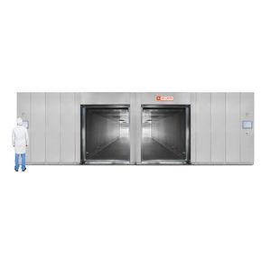 laboratory sterilizer / ethylene oxide / horizontal / for the pharmaceutical industry