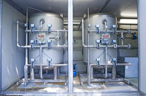 sand filtration unit / for potable water / stainless steel / custom