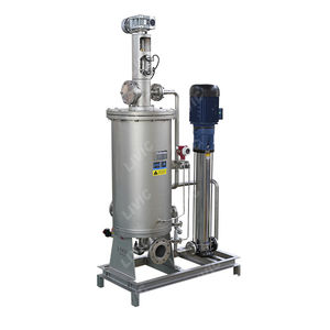 self-cleaning filtration system / fuel / oil / for water