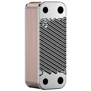 brazed plate heat exchanger / liquid/liquid / gas/liquid / stainless steel