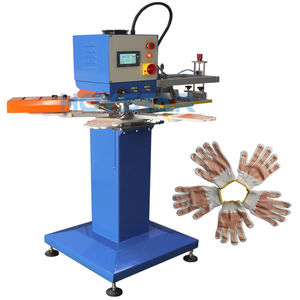 servo-driven screen printing machine / monochrome / glove / for labels