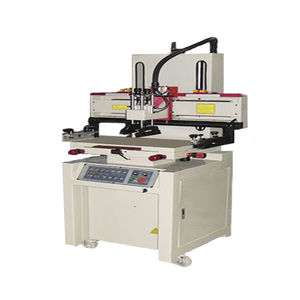 manual screen printing machine / monochrome / vacuum / fully-automatic