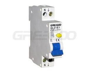 thermal residual current circuit breaker