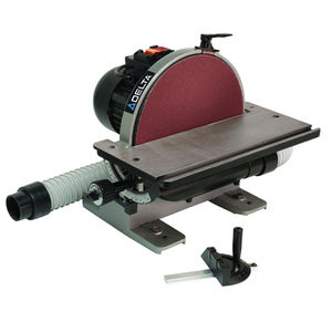 disc sander / electric / for wood / heavy-duty