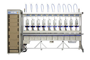 multi-parameter test bench / for electric energy meters / automated / automatic