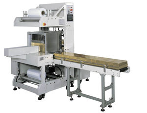 automatic shrink wrapping machine / for heat-shrink films