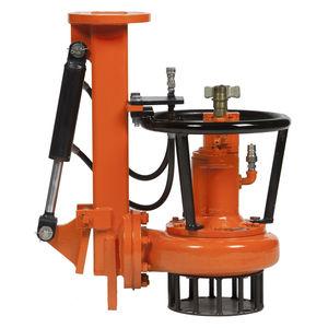 diesel engine hydraulic pump / compact / slurry