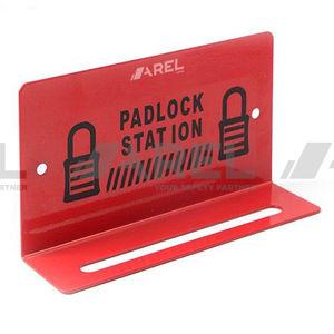 walled key box