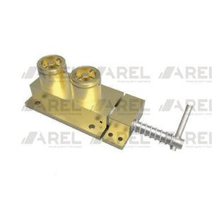 bolt lock / key / for sliding doors / brass