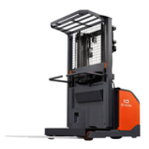 order-picking pallet truck / electric / wide / distribution
