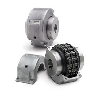chain coupling / roller chain / compact / double