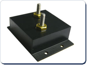 type 1 surge arrester / three-phase / modular / for surface installation