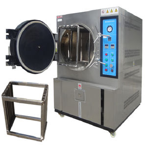 accelerated aging test equipment / pressure / for printed circuits / for photovoltaic modules