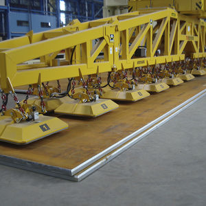 sheet metal vacuum lifting device / industrial / for heavy loads / horizontal