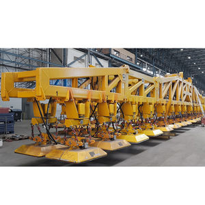 metal sheet vacuum lifting device / for heavy loads / industrial / horizontal