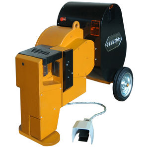 electric shear / for concrete reinforcements / for iron bars / circular