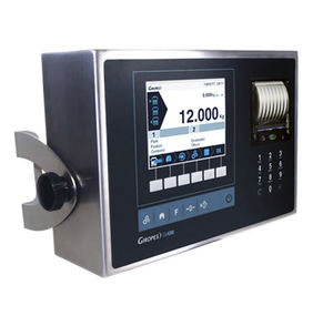 weight indicator with LCD graphic display