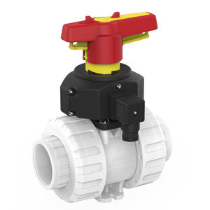 ball valve / manual / modular / PVDF
