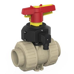 ball valve / manual / modular / PP