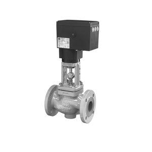 regulating valve / globe / electric / flange