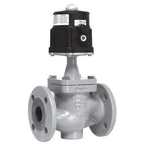 globe valve / pneumatic / shut-off / regulating