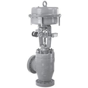regulating valve / plug / pneumatic / flange