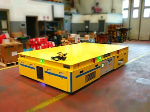 handling AGV / electric / omnidirectional / for heavy loads