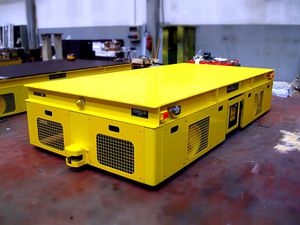 electric AGV / for heavy loads