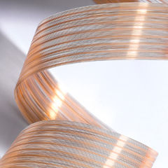 data electrical cable / hybrid / fire-resistant / ribbon