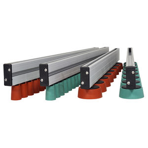 length: 100 mm conveyor roller rollers steel dia 20 mm with spring axle for gravity conveyor