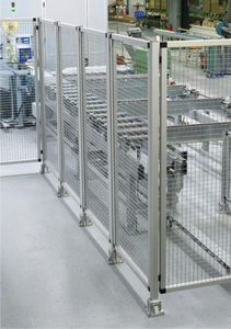 machine enclosure partition