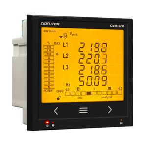 AC energy network analyzer / power / voltage / for integration