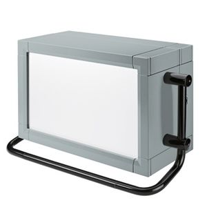 handheld enclosure / rectangular / aluminum profile / custom