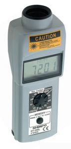 contact tachometer / non-contact / laser / handheld