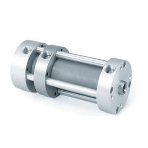 pneumatic cylinder / double-acting / multi-position