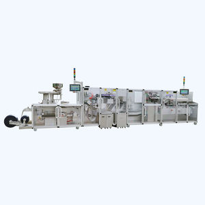 fully-automatic packaging line / blister / for the pharmaceutical industry