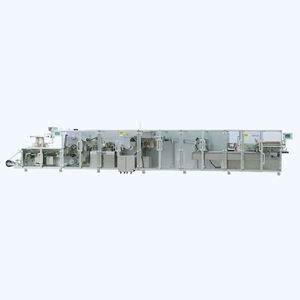 pharmaceutical product packaging line / for pharmaceuticals packaging / fully-automatic / for the pharmaceutical industry