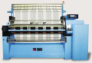 flat knitting machine / fully-automatic / crochet / industrial