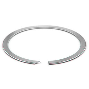 spiral retaining ring / metric / for light-duty applications