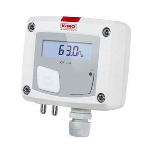 differential pressure sensor / membrane / wall-mount / with LCD display