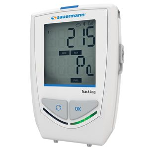 pressure data-logger / wireless / with LCD display / climatic
