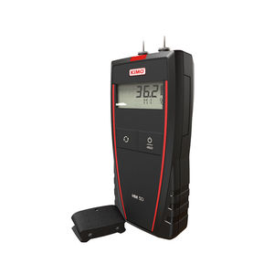 pin moisture meter / building materials / with digital display / hand-held